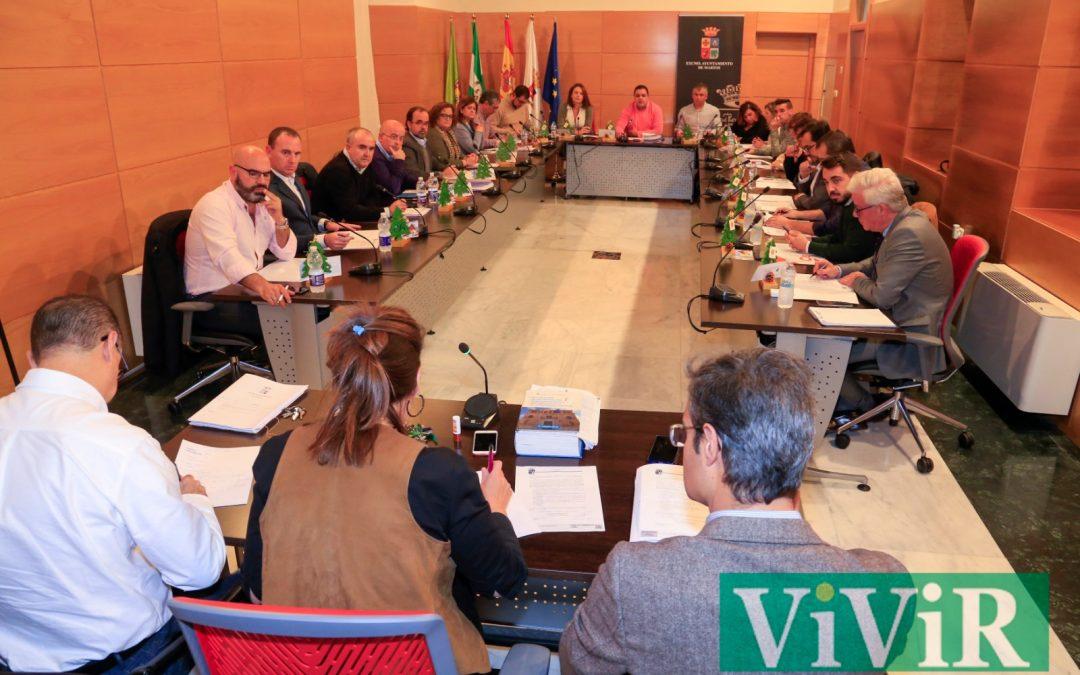 El Ayuntamiento de Martos celebra hoy su primer Pleno telemático