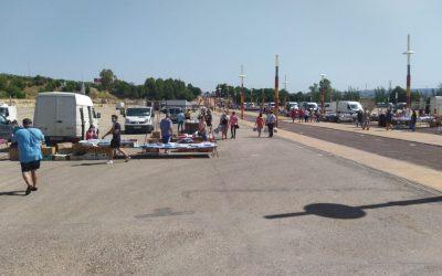 El Ayuntamiento destaca la normalidad en la reapertura del mercadillo