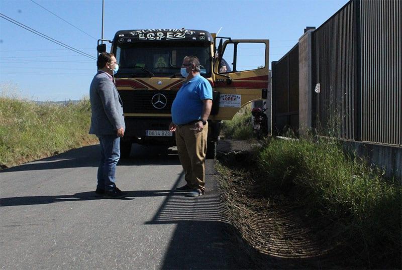El Plan de Puesta a Punto de Andújar llega a los caminos rurales