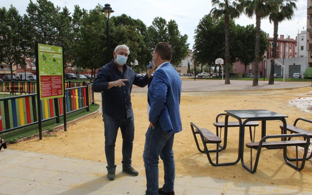El Ayuntamiento de Andújar prosigue con el Plan de Puesta a punto en diferentes zonas del municipio