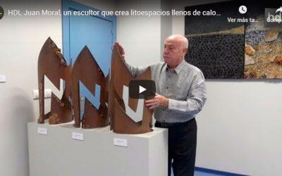 """""""El arte visto con la mirada de su creador/a"""" presenta a Juan Moral"""