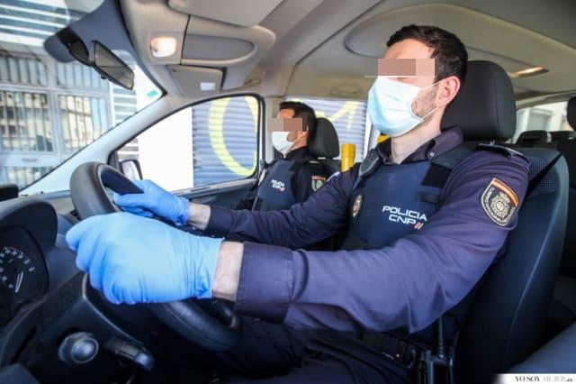 La Policía Nacional detiene en Jaén a dos hombres por cuatro robos con violencia en varias panaderías