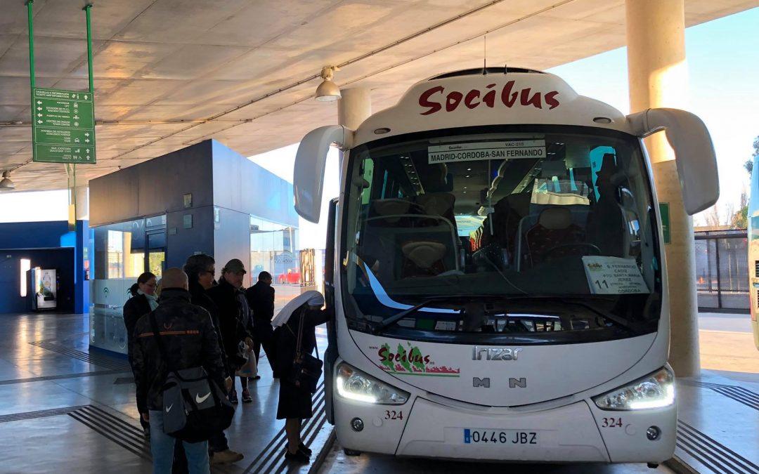 Socibús plantea volver a conectar Andújar con Madrid y Sevilla a partir de julio