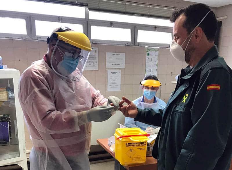 Jaén sigue liderando el aumento de positivos por coronavirus en Andalucía por cuarto día