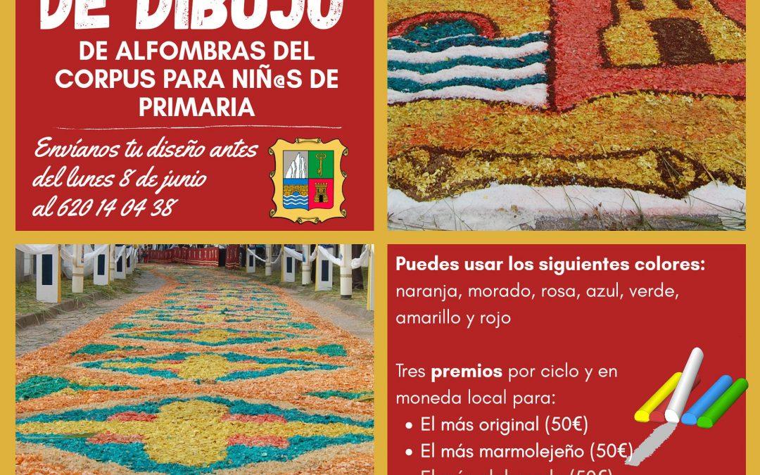 Concurso de dibujo de alfombras del Corpus