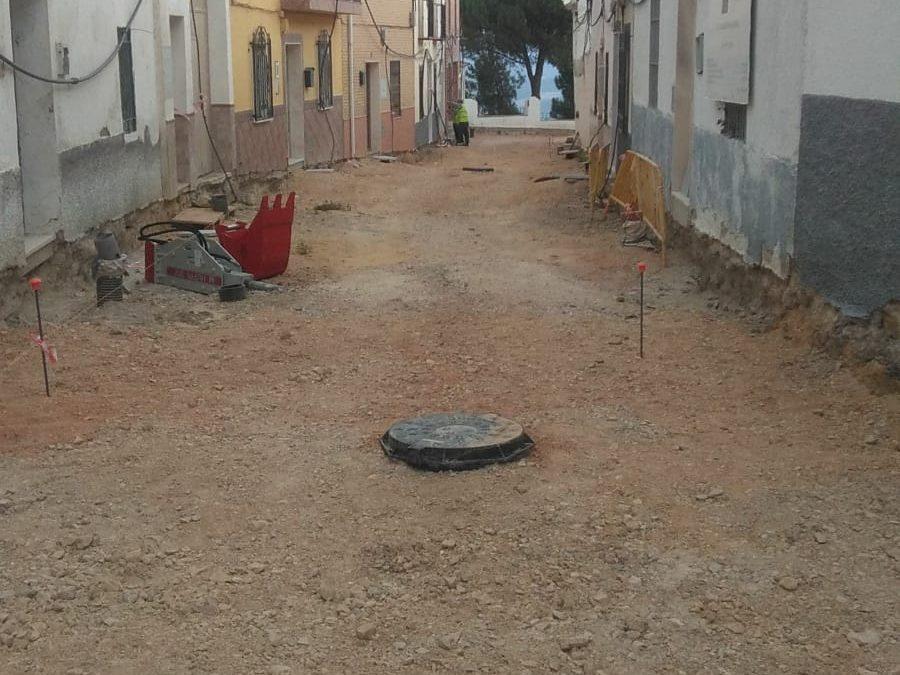 Batería de obras y mejoras en Arjona