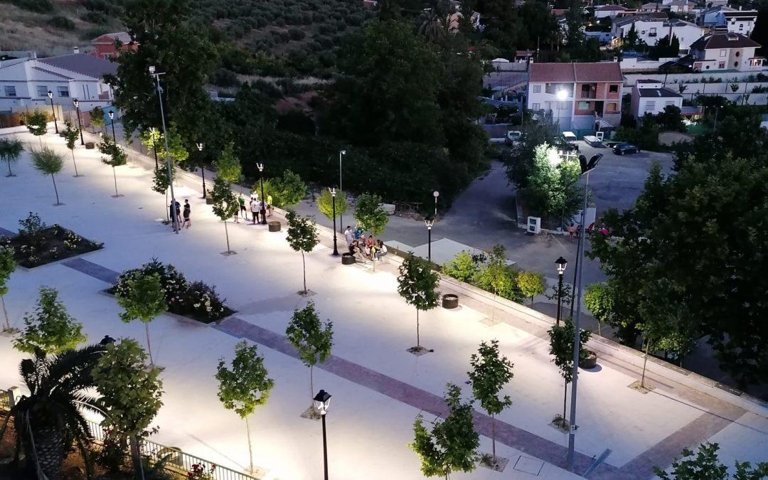 Renovación del parque 'Jamilena por la Paz'