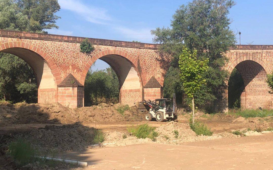 El Ayuntamiento realiza mejoras en el Balneario de Marmolejo