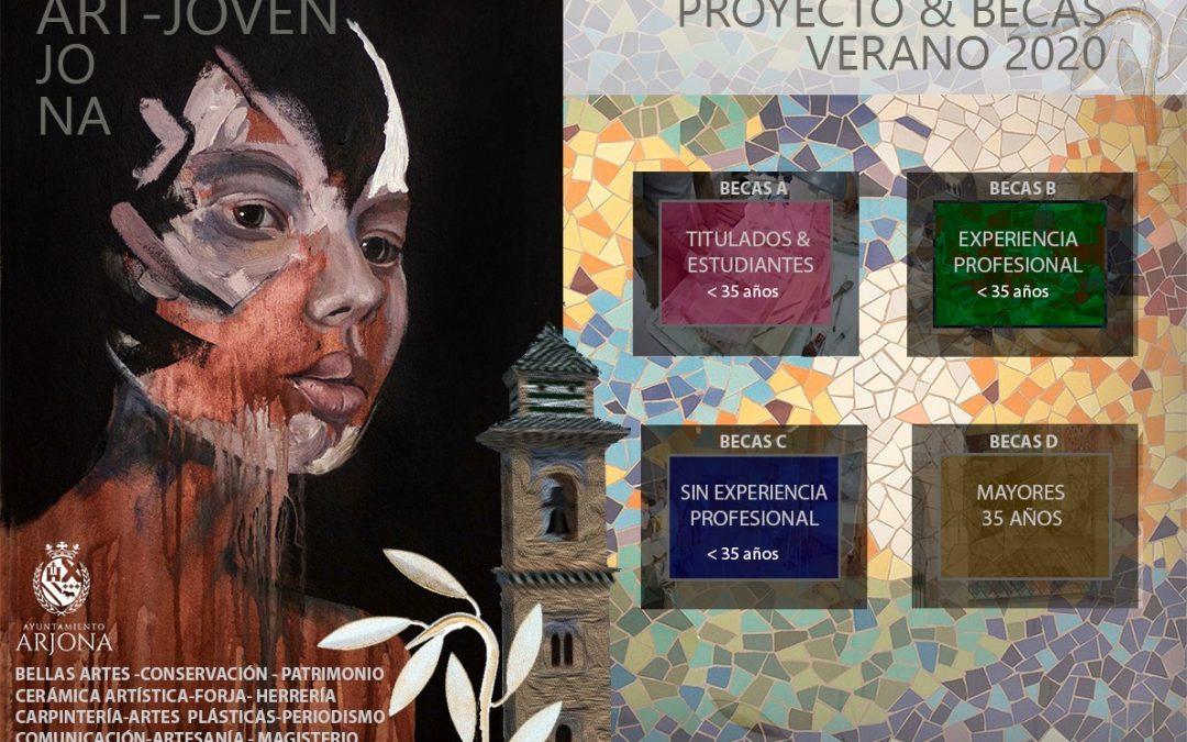El programa de becas 'ART-JOVEN' agrupará cuatro modalidades de becas