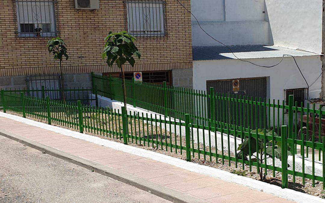 El Ayuntamiento de Jamilena ha finalizado la actuación en la Calle Pilar