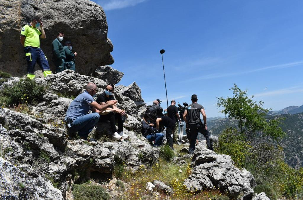 La provincia de Jaén vuelve a convertirse en plató de cine tras la pandemia