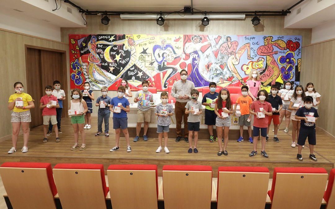 Entrega de premios del Concurso Escolar del Día de la Constitución