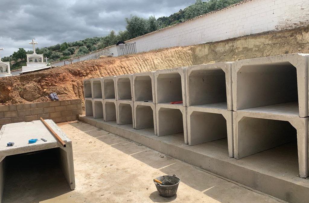 Un nuevo pabellón para el Cementerio de Castillo de Locubín