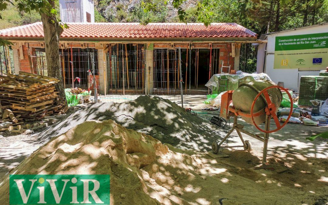 El Centro de Interpretación del río San Juan avanza a buen ritmo