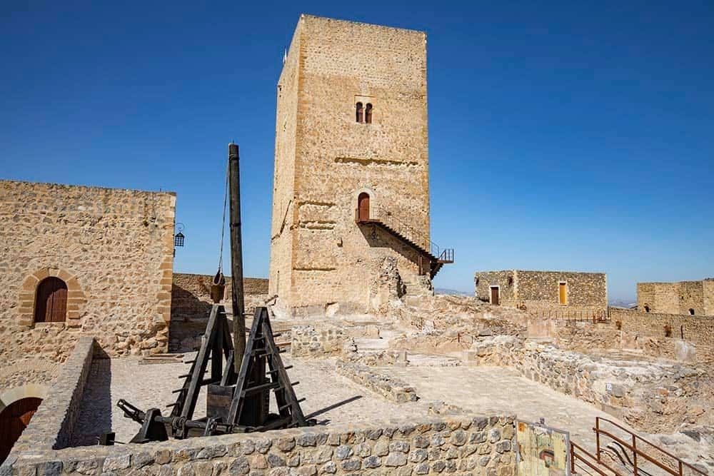La actividad turística vuelve al Castillo de Alcaudete
