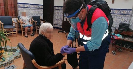 Salud informa de un brote de COVID en la residencia Alhucema de Torredelcampo