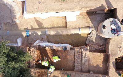 Los arqueólogos documentan una Villa Romana en Mengíbar