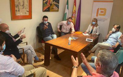 El Puerto Seco en el polígono Nuevo Jaén toma cuerpo de la mano del área de Promoción Económica del Ayuntamiento