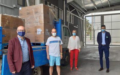 Donación de 12.500 pañales para familias vulnerables de Torredonjimeno