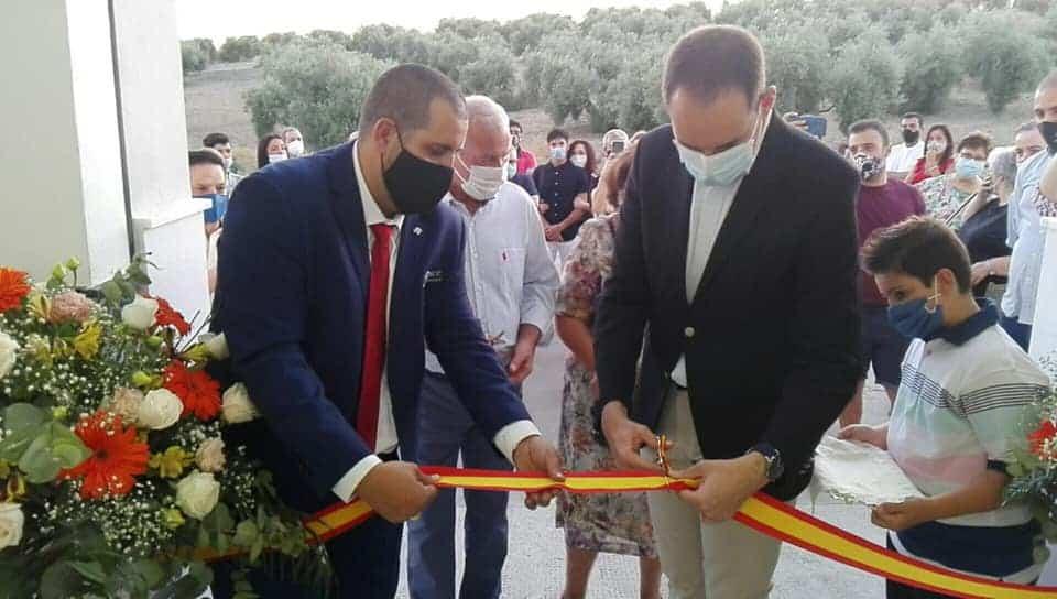 Arjona inaugura el nuevo tanatorio de la ciudad