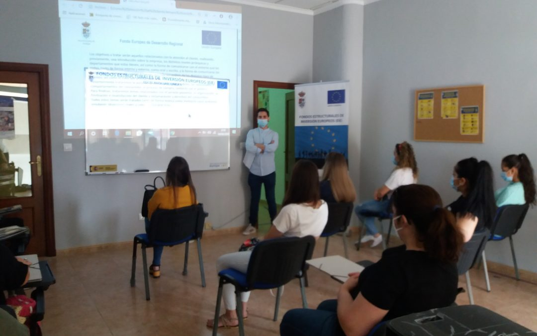 El Ayuntamiento de Andújar reactiva la formación para el impulso de la integración sociolaboral promovido a través de la EDUSI
