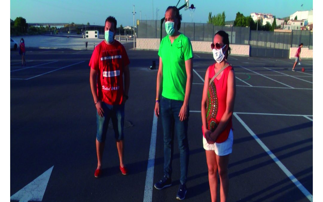 'Street Basket' en el Recinto Ferial de Torredelcampo