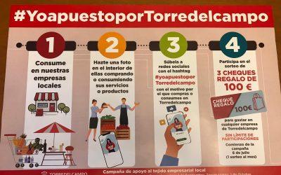 'Yo apuesto por Torredelcampo', nueva iniciativa para impulsar los negocios locales