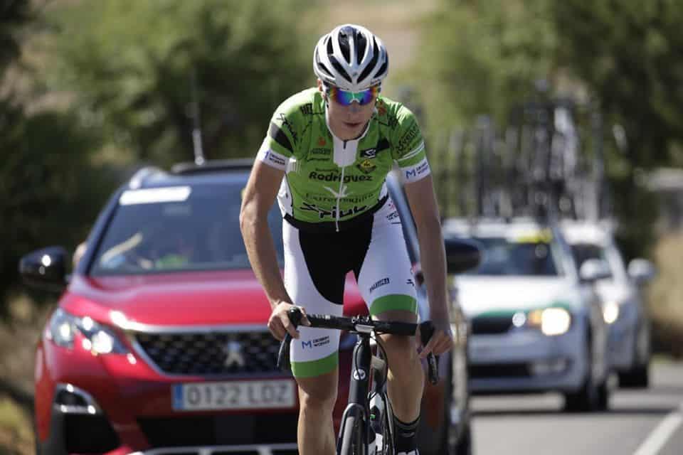 "El ciclista torrecampelño Cristóbal Moral se marca la ""etapa de su carrera"" en la Vuelta a Zamora"