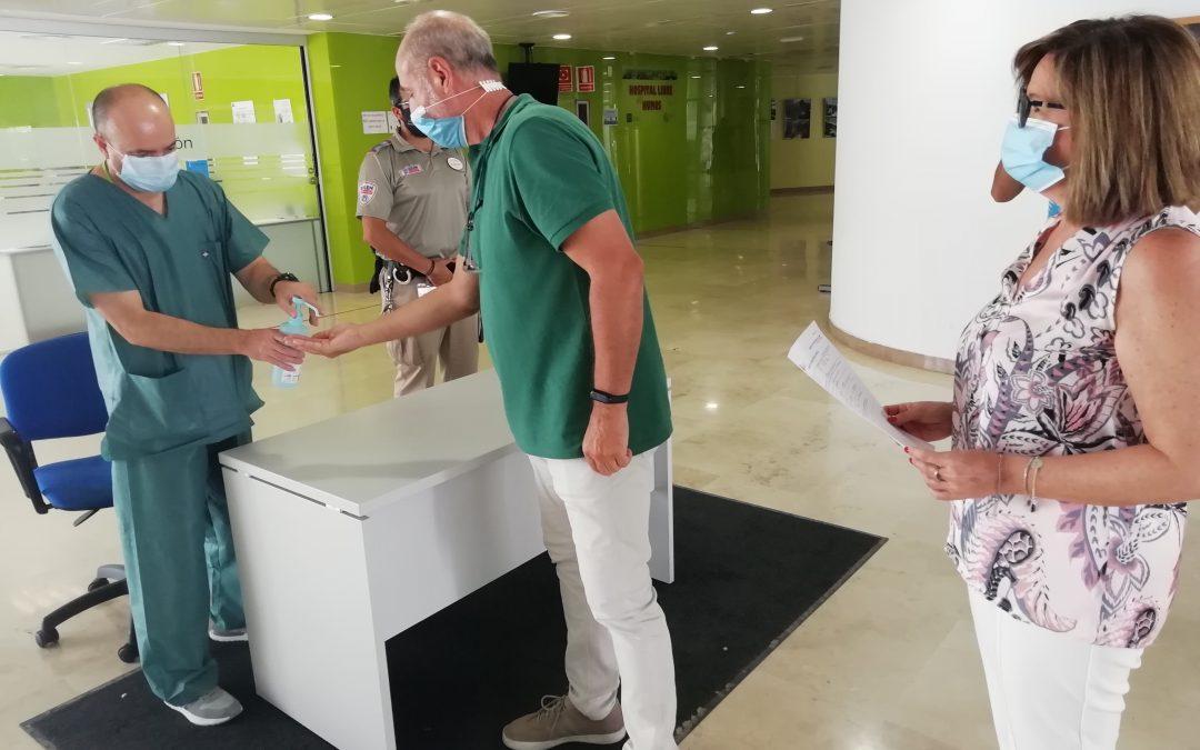 Los hospitales de Jaén solo están tratando 12 pacientes ingresados por Covid19