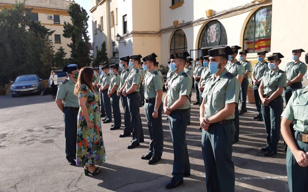 40 agentes se incorporan en prácticas a los cuarteles de la Guardia Civil de la provincia de Jaén