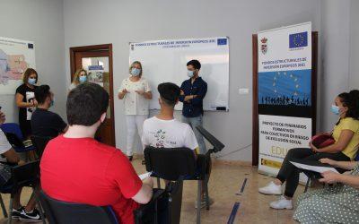 El consistorio da comienzo a la nueva formación de 60 horas de Aplicación de Plaguicidas y Productos Fitosanitarios a través de la Línea 9 de EDUSI