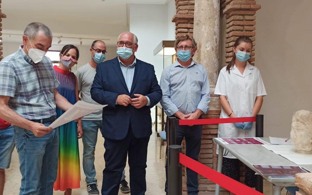 """La recuperación y limpieza de """"la cabeza de Cástulo"""" se hará ante público en el Museo"""
