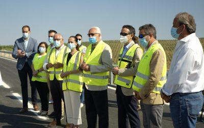 La Junta termina el arreglo de dos tramos de la carretera de Jaén a Andújar por Fuerte del Rey