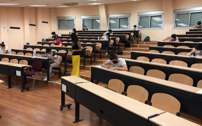 Casi 4.000 alumnos realizan ya la selectividad en 10 sedes de la provincia de Jaén