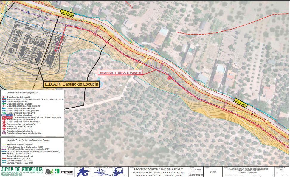 El Ayuntamiento de Castillo de Locubín anunciará el próximo lunes su postura sobre el proyecto de la EDAR