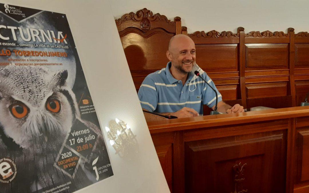 'Nocturnia' llega al Castillo de Torredonjimeno el 17 de julio a las 20:20 horas