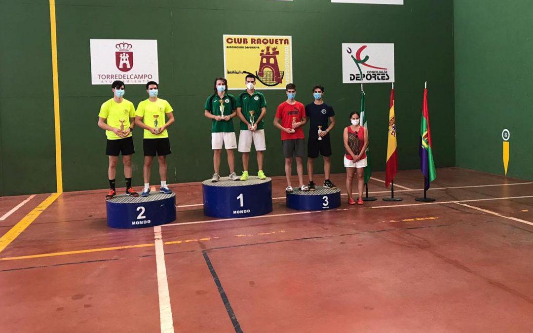 La plata se queda en Jaén y el bronce en Torredelcampo en la fase final del Campeonato de Andalucía que se ha disputado este domingo en el Pabellón 18 de febrero torrecampeño