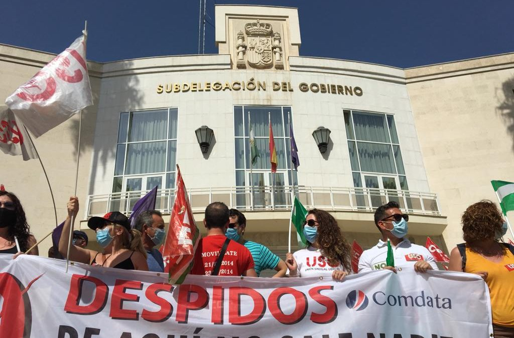 Empresa y sindicatos evitan los 352 despidos previstos el 8 de agosto en COMDATA