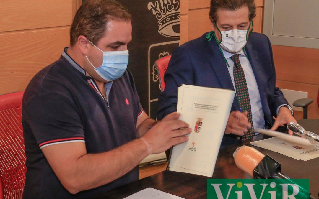 """Fundación Caja Rural de Jaén renueva su acuerdo para las dos próximas ediciones de la revista cultural """"Aldaba"""" con 2.500 euros"""
