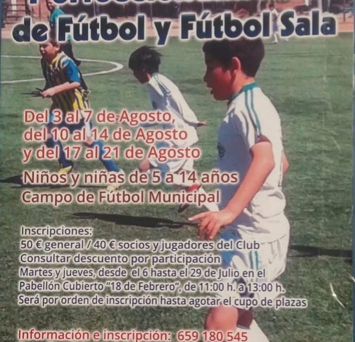 El CD Hispania abre el plazo de inscripción de su campus de fútbol que será en agosto