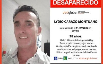 Hallado en buen estado en Sevilla el jiennense cuya desaparición había denunciado su familia