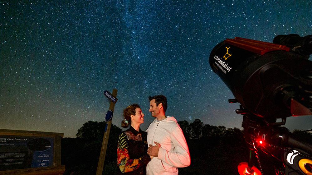Andújar organiza una actividad gratuita de astroturismo en el primer observatorio Starlight de Sierra Morena