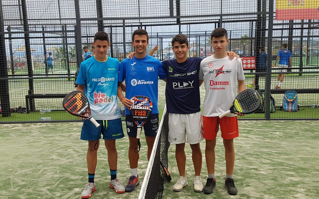 Javier Ureña se alza con 15 años con el Memorial Jesús Marquet de Málaga senior de Pádel en la segunda categoría
