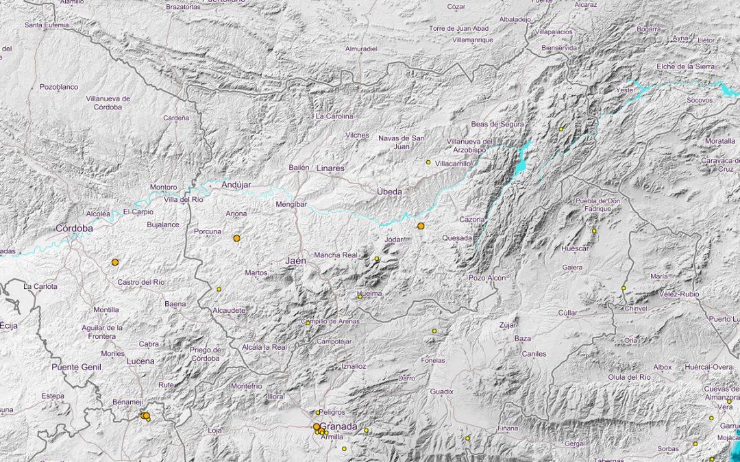 """Jaén registra hasta ocho """"terremotos"""" en las últimas tres semanas"""