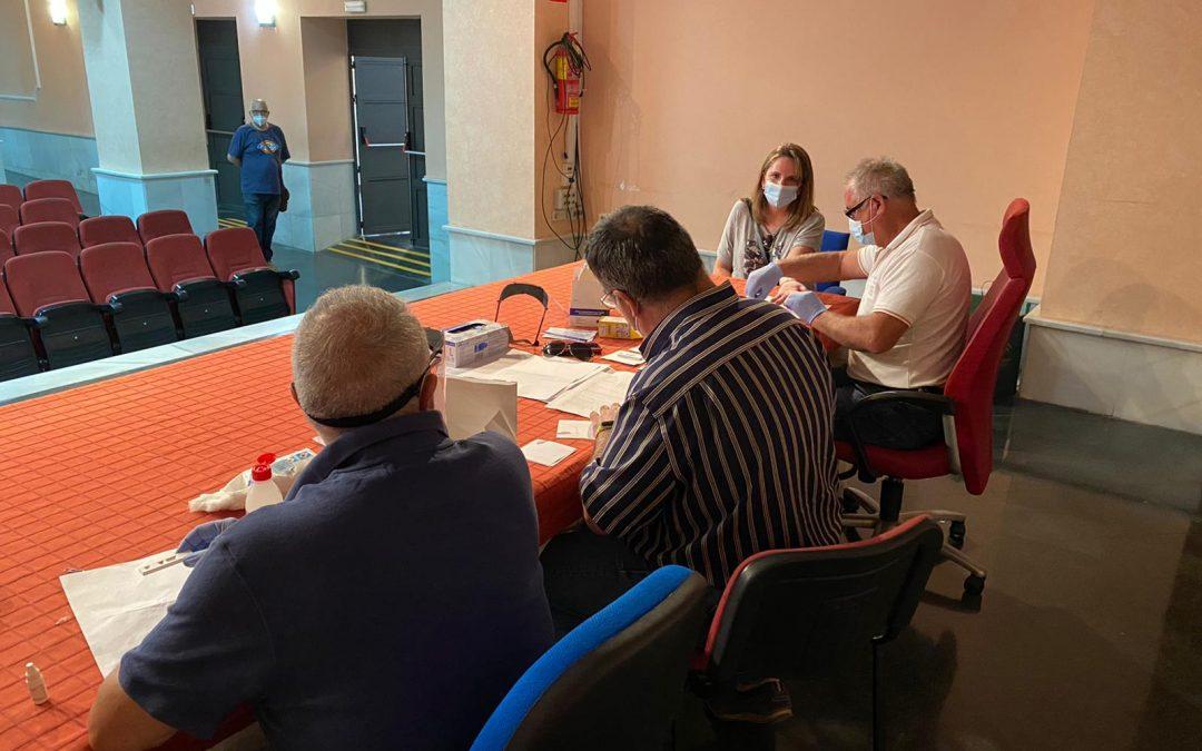 La Junta hace el test del coronavirus a los profesores que vigilarán la selectividad a partir de mañana