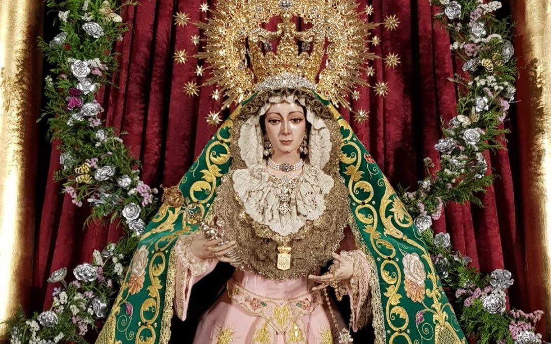 Los vecinos y vecinas de Jamilena podrán visitar el 15 de agosto a Nuestra Señora de la Natividad