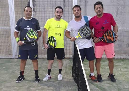 Gran participación en las ligas veraniegas de tenis y pádel de Castillo de Locubín