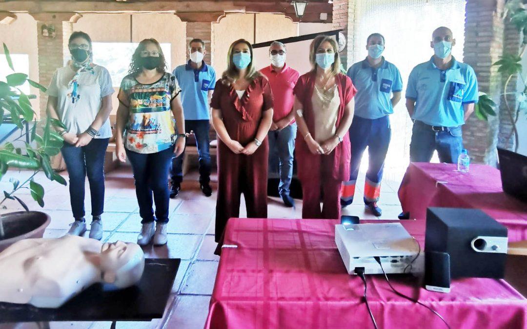 Salud y Familias celebra una jornada para cuidar la salud en El Centenillo