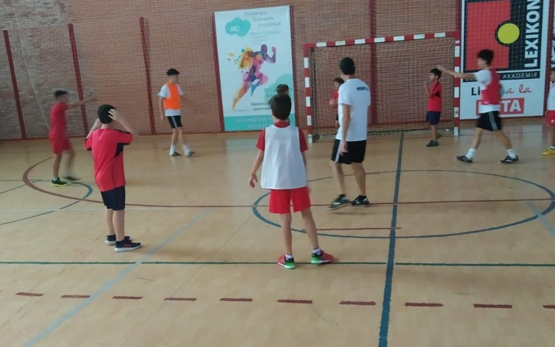 El CD Hispania finaliza su campus del mes de agosto