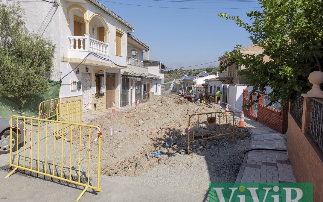 Las obras de la calle La Fuente entran en su recta final